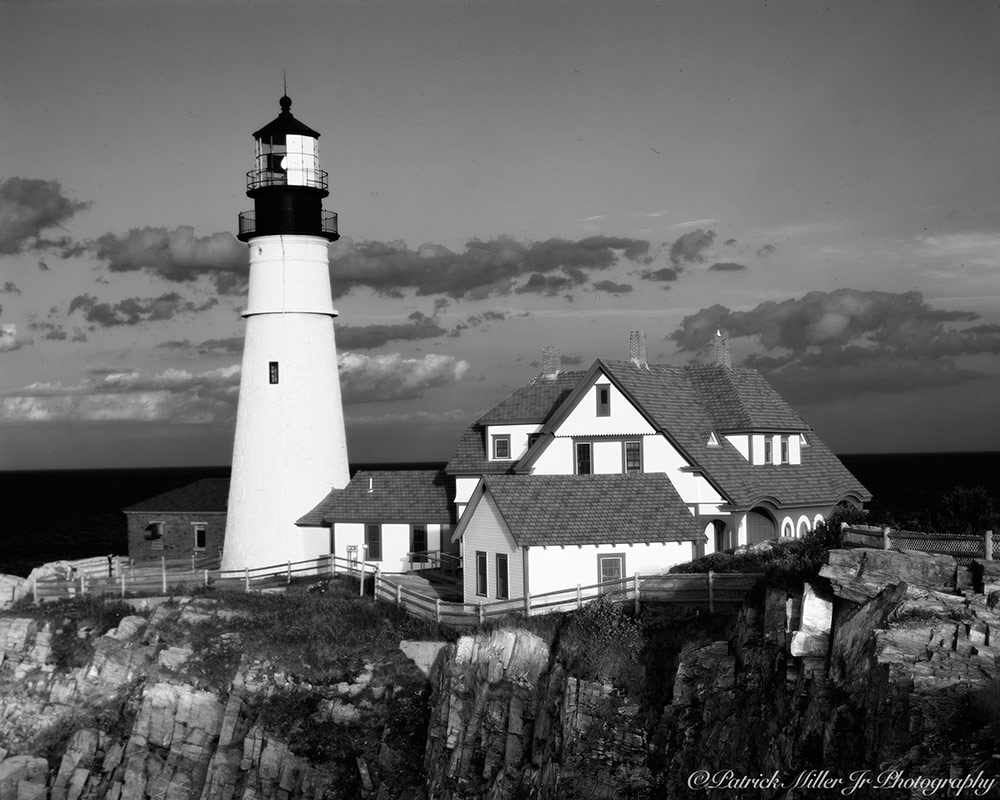 Portland Head Lighthouse is the most photographed landmark one the east coast of the United States Maine
