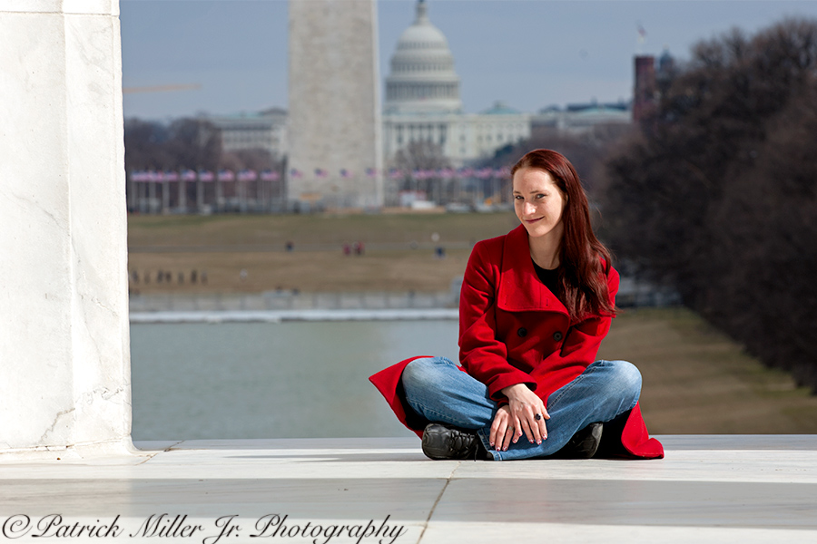 Lincoln Memorial Portrait DC