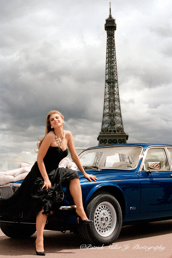Model Paris Eiffel Tower