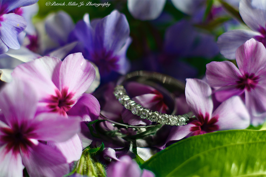 Product Photography Wedding rings, VA