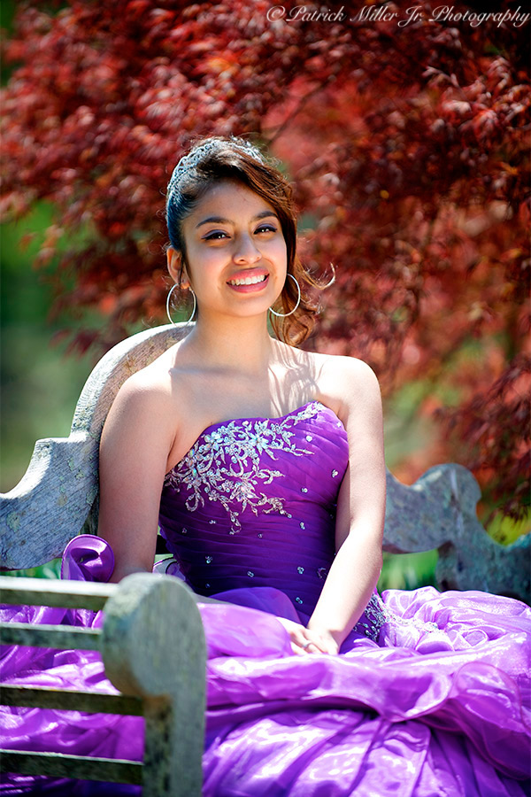 Sweet Sixteen Outdoor Portrait, VA