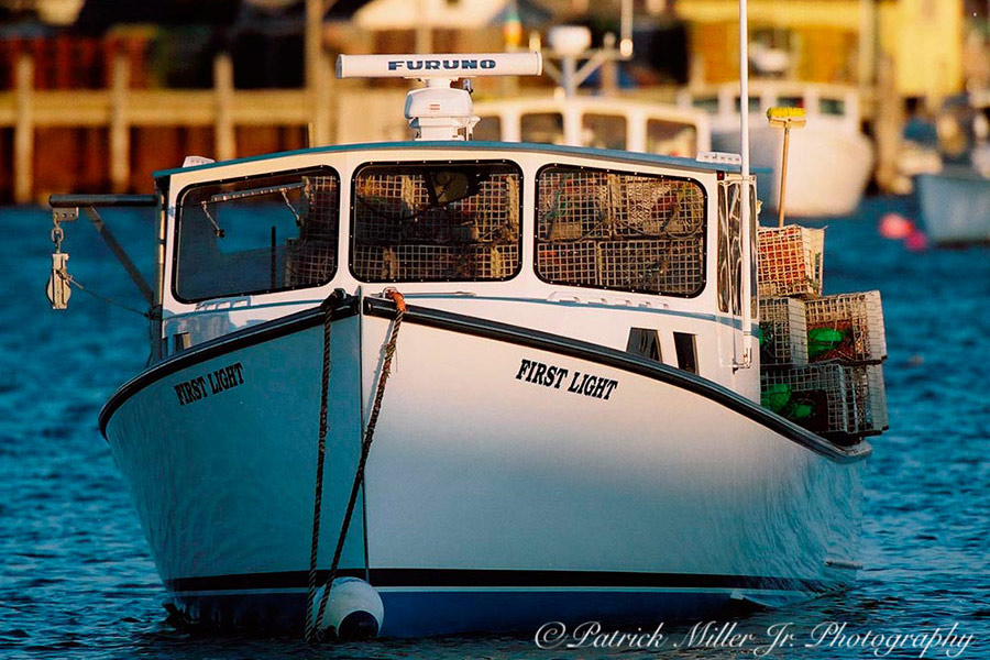 First Light Lobster Boat, Maine