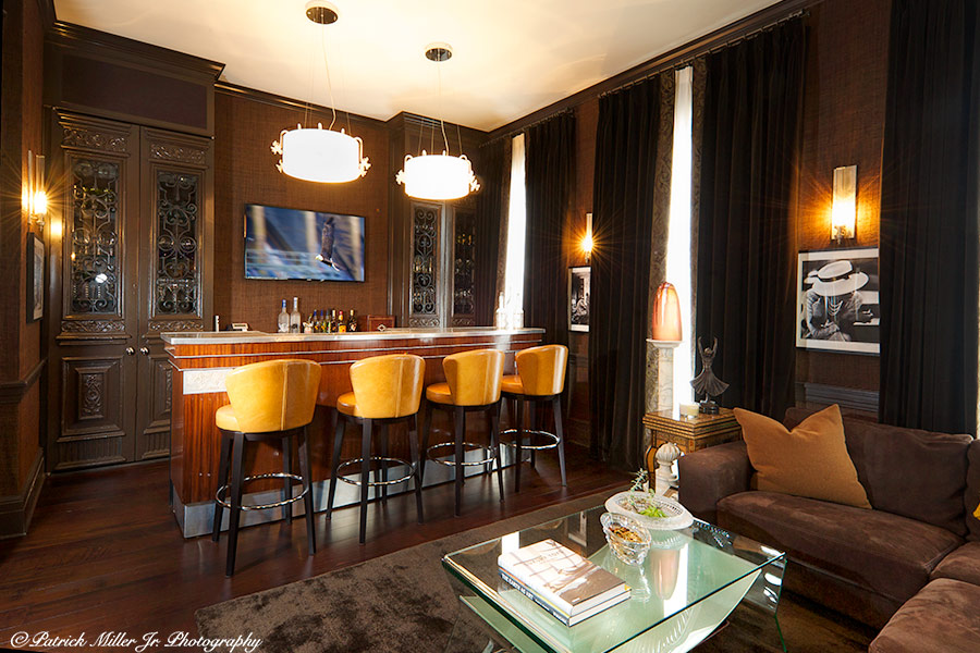 Commercial Interior Architecture, Georgetown Home Bar Washington, DC