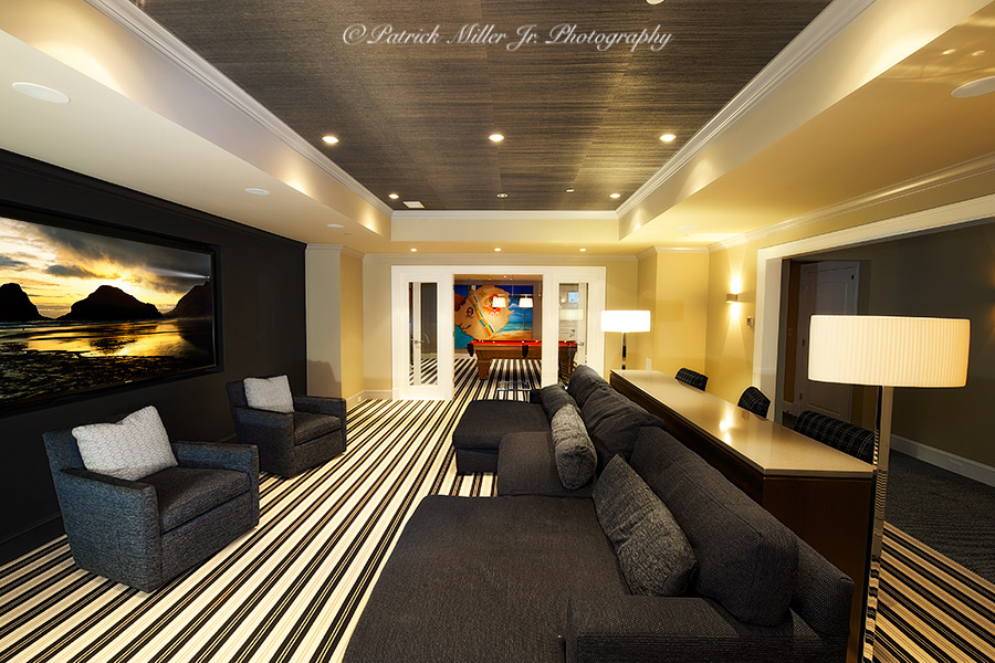 Commercial Interior Architecture Home Entertainment Room
