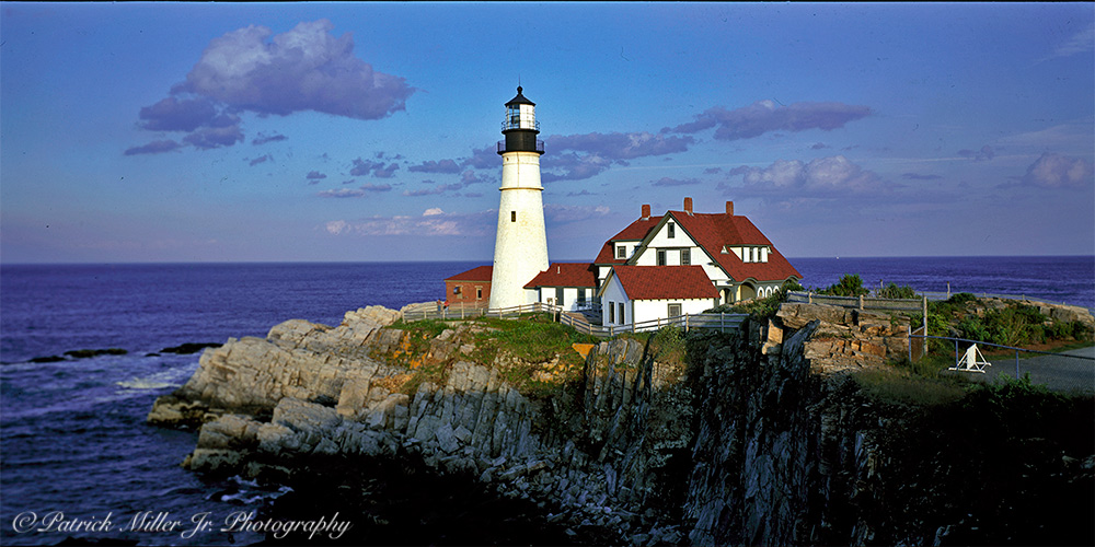 Portland Head Lighthouse and Coastline Maine