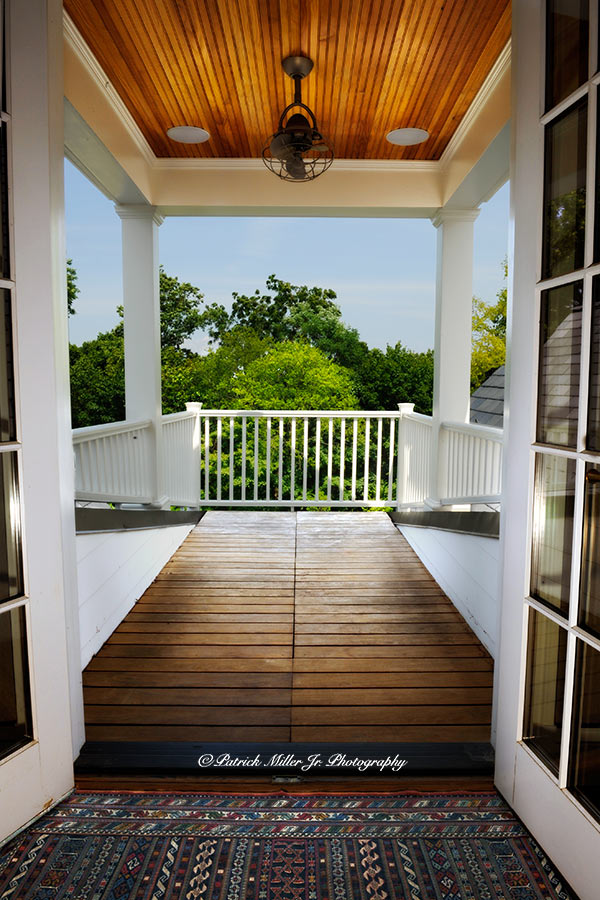 Interior Architecture Sunny Bedroom Deck Mount Vernon, VA