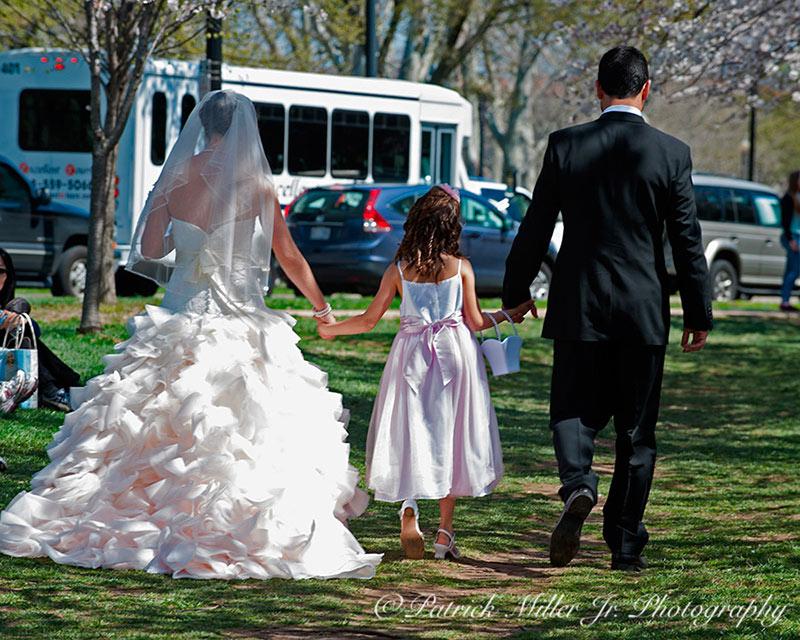 Wedding during Cherry Blossom's Festival Washington, DC