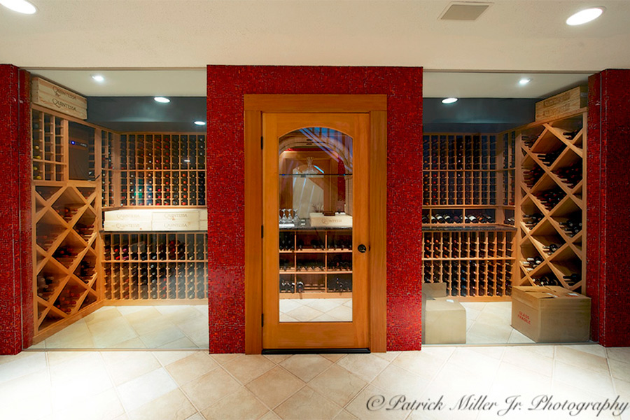 Wine Cellar Bethesda, MD. Commercial Interior Architecture