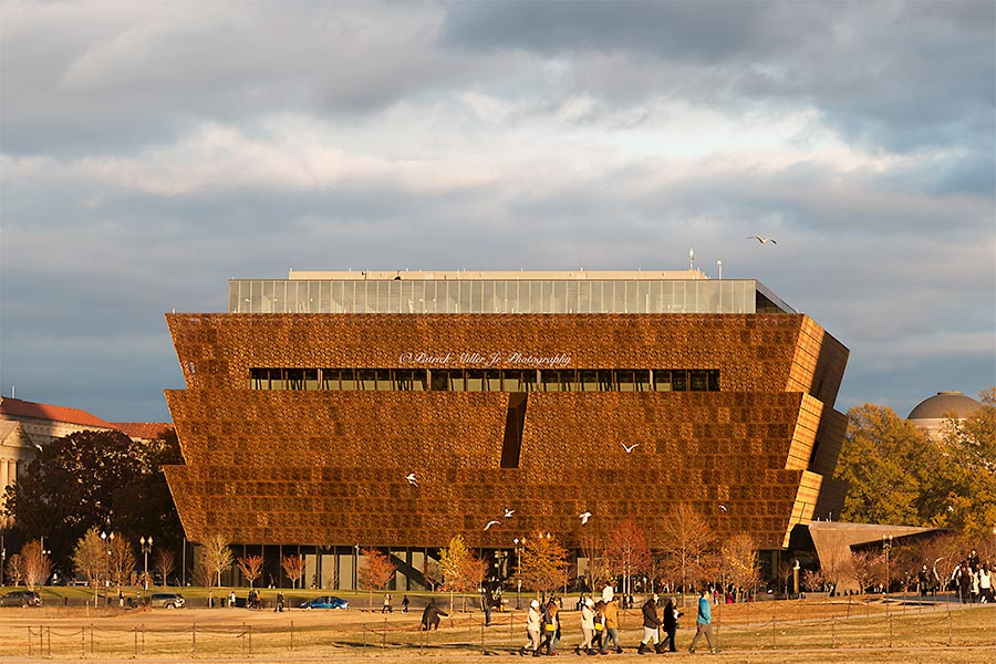 Smithsonian Museum of African American History and Culture in Washington, DC
