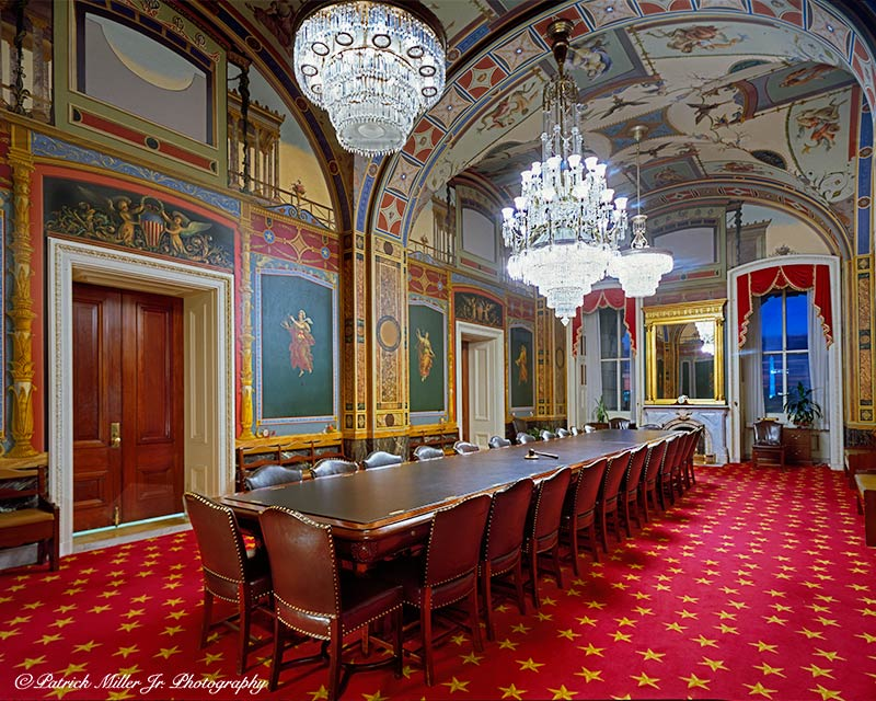 Interior of the Senate Appropriations Committee Room US Capitol Washington, DC