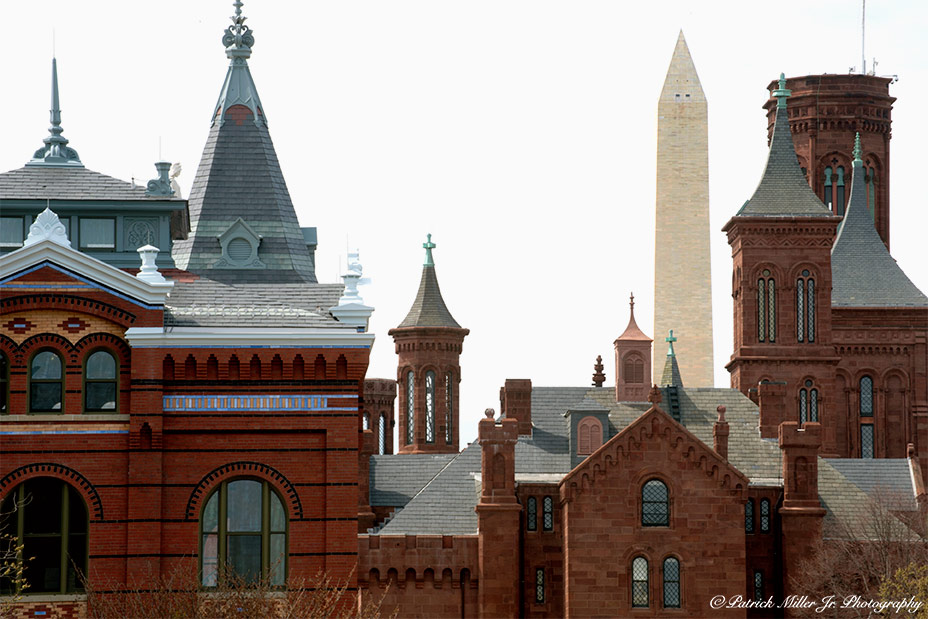 """The Castle"" is the first Smithsonian building in Washington, DC"