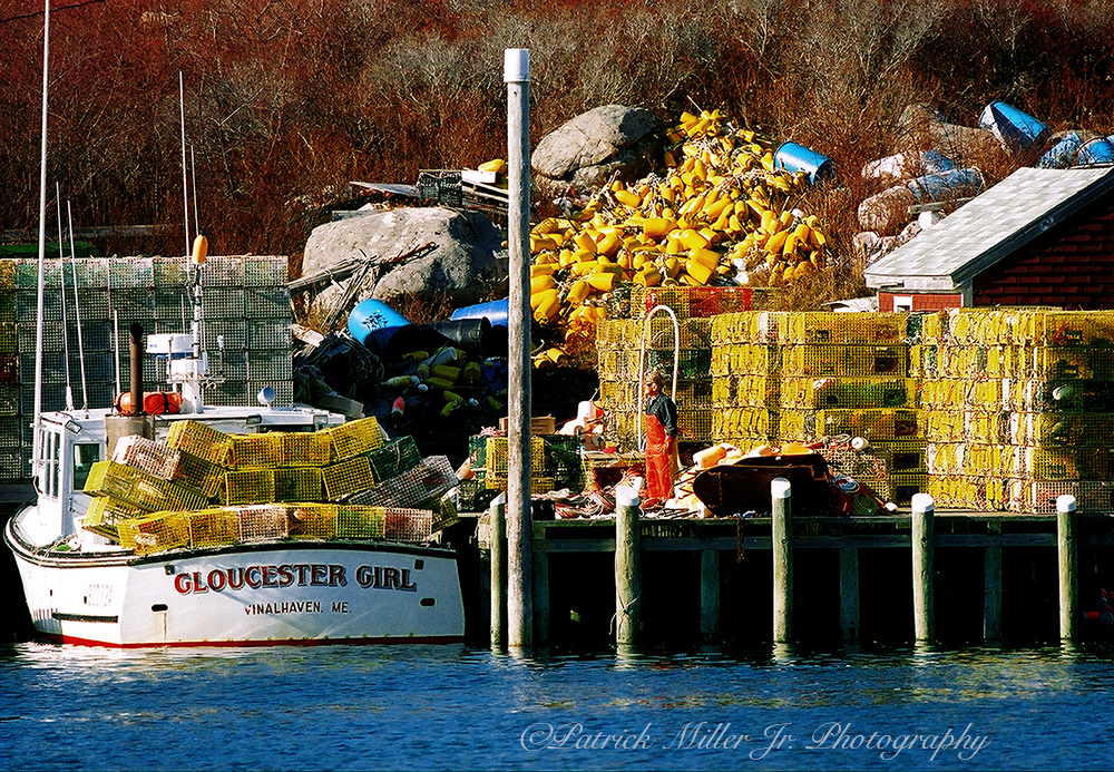 "Lobster Boat ""Gloucester Girl"" Maine"