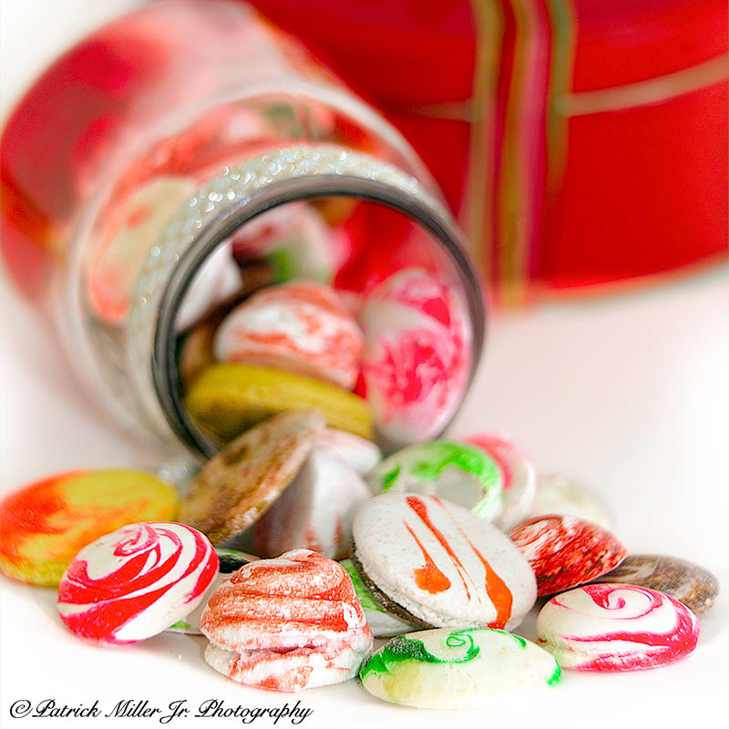 Product Photography Macaroons Gift Wrapped VA